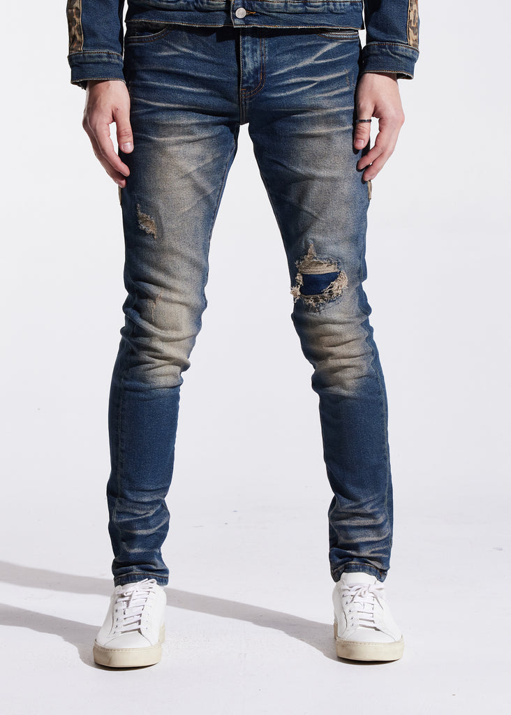 Bower Standard Denim (Indigo Cheetah)