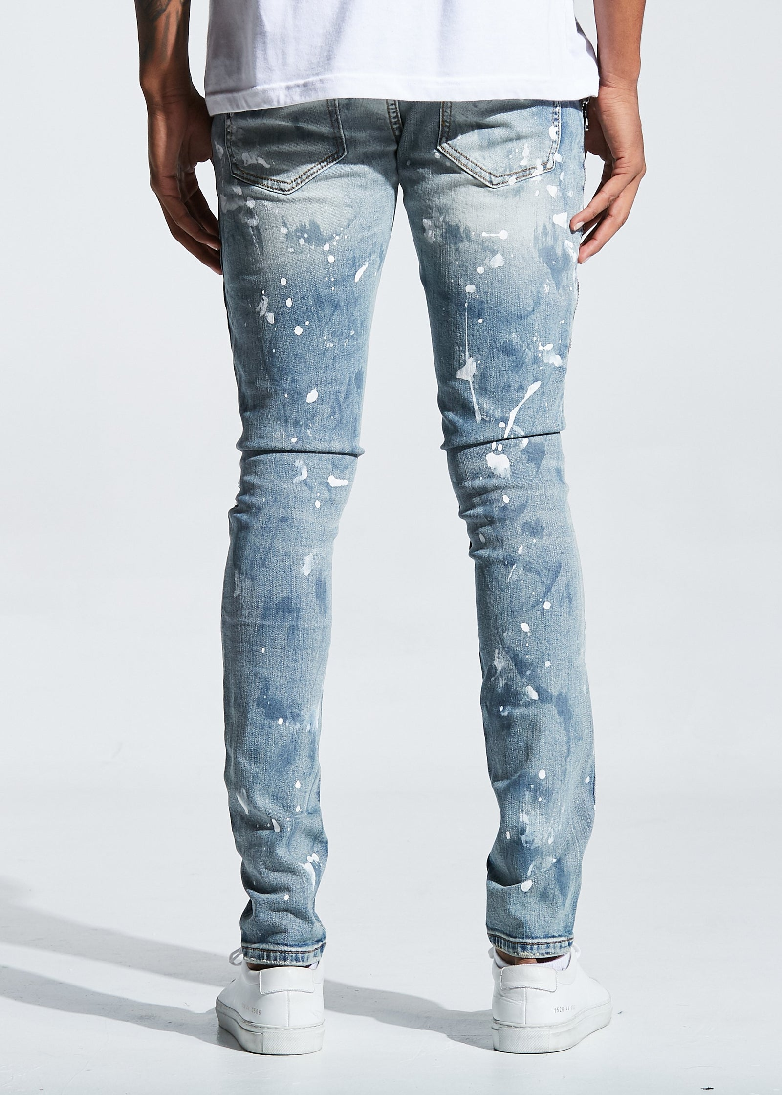 Colombo Denim (Blue Paint)