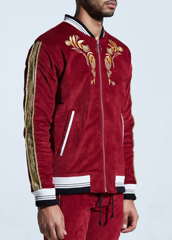 Monarch Jacket (Red/Gold)