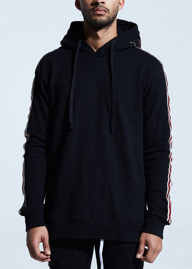 French Terry Hoodie (Black)