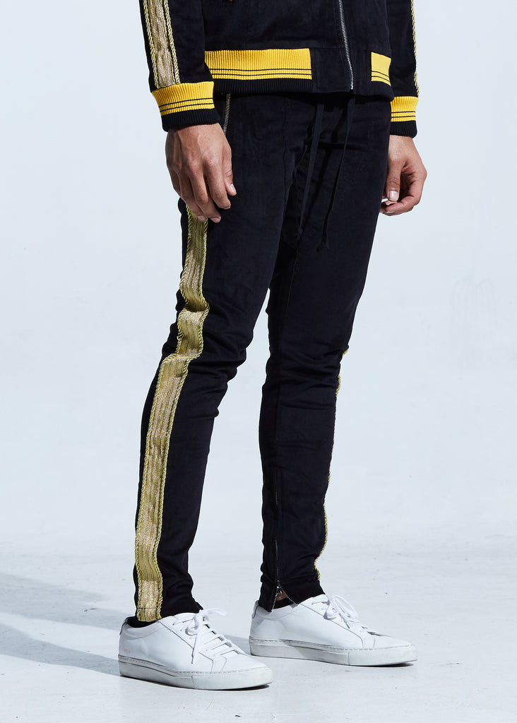 Monarch Track Pants (Black/Gold)