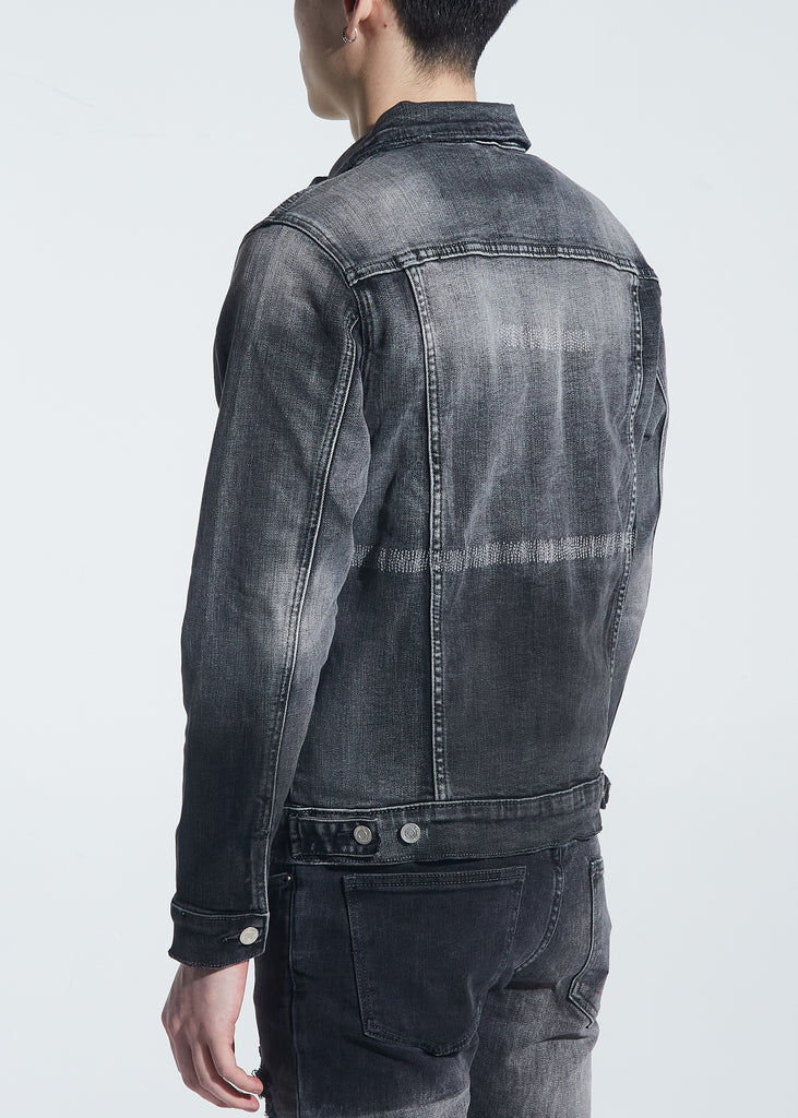 Jackson Denim Jacket (Gray Wash)