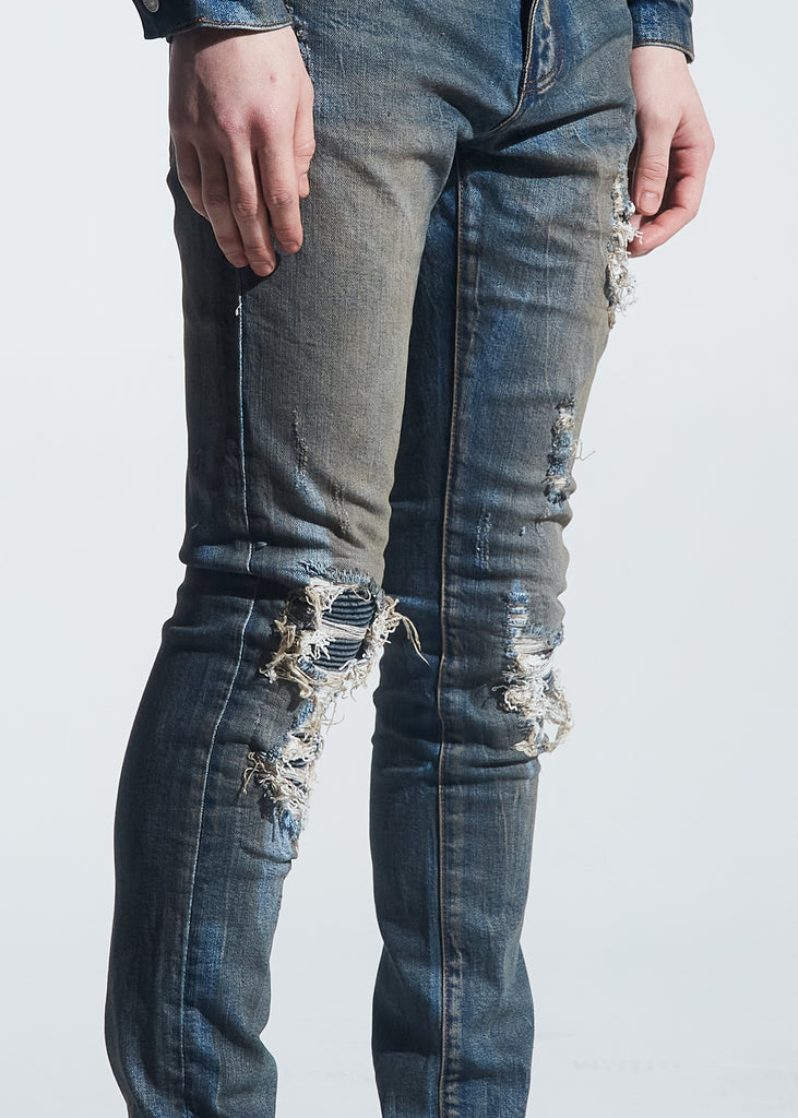 Rivers Rip & Repair Denim (Dirty Indigo Wash)