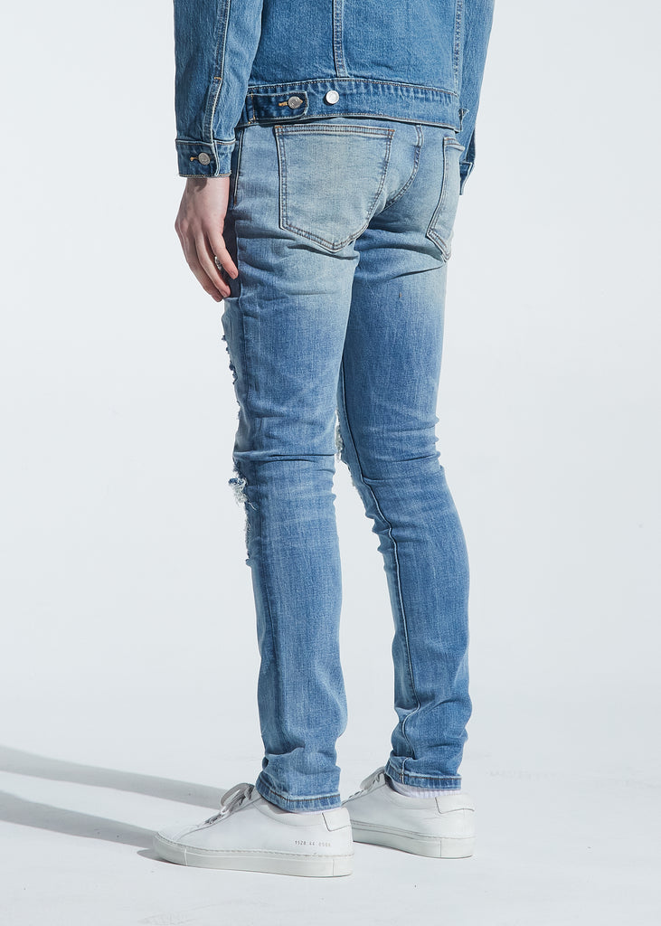 Brady Rip & Repair Denim (Indigo Wash)