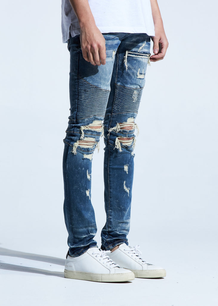 Tatum Biker Denim
