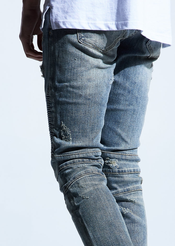 Kuze Biker Denim