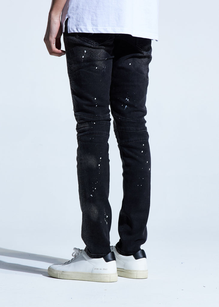 Quaker Biker Denim
