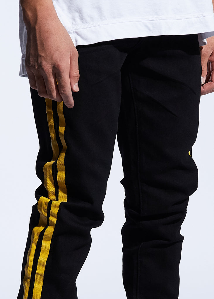 Bolt Denim (Black/Yellow)