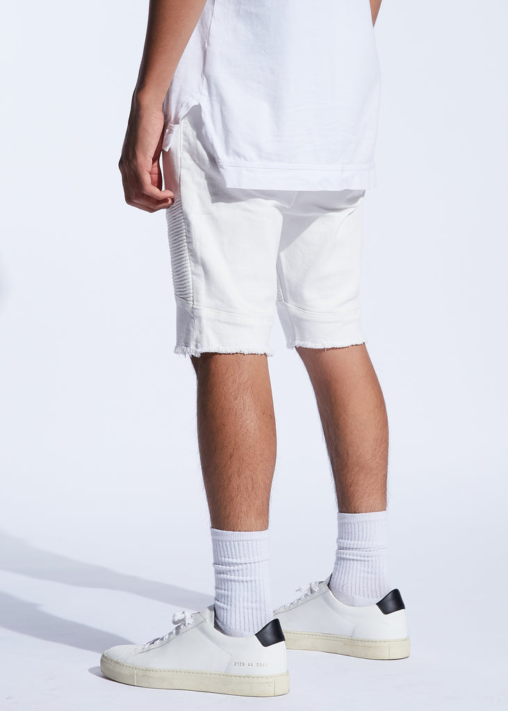 Spencer Shorts (White)