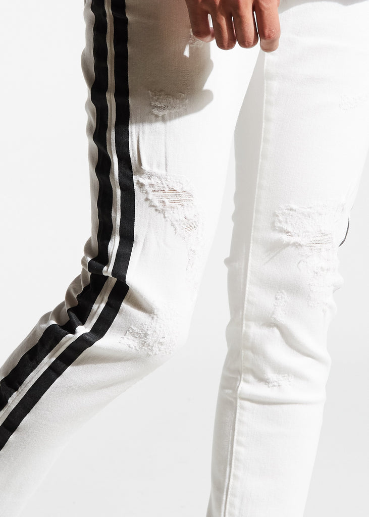 Bolt Standard Denim (White/Black)