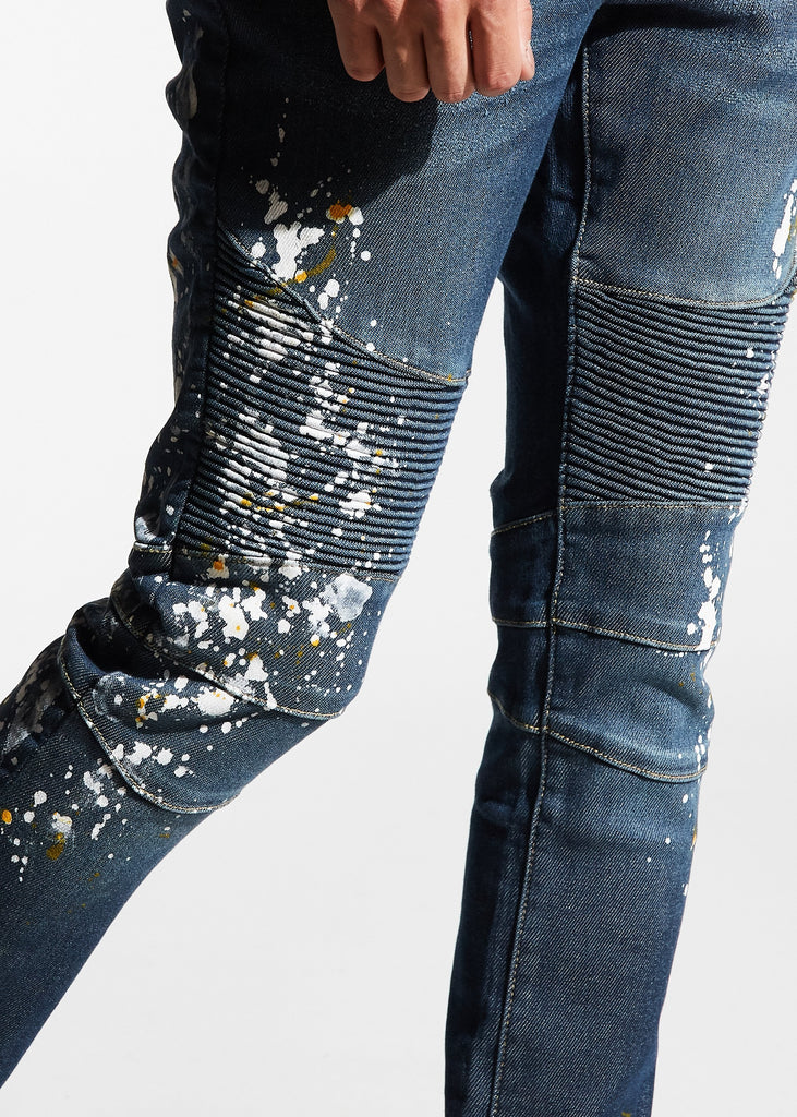 Kearse Biker Denim