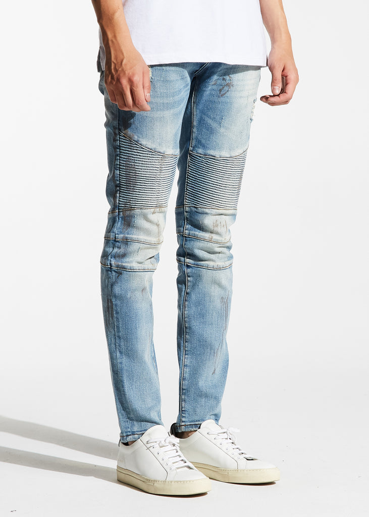 Jennings Biker Denim