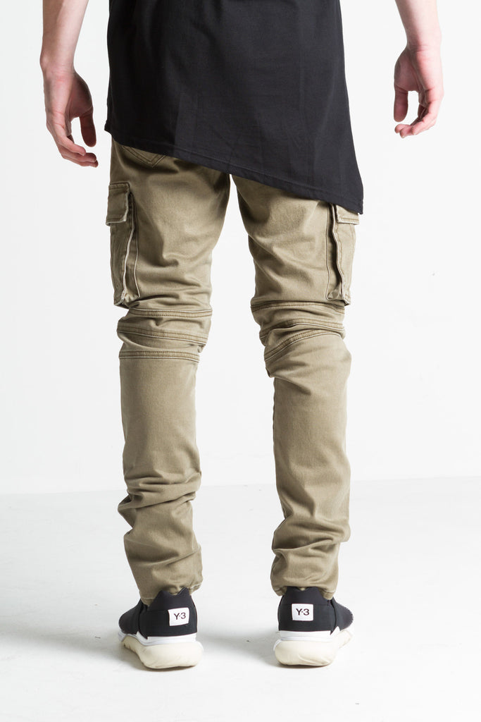 Ghost Cargo Biker Denim (Olive)