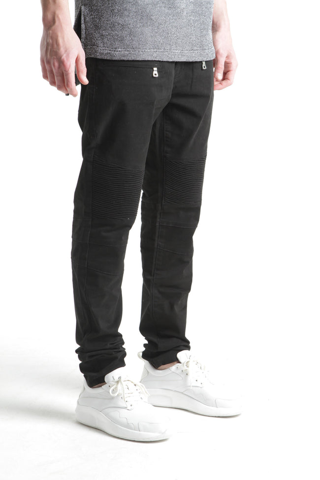 Jalpa Biker Denim (Black Twill)