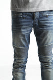 Mulsanne Biker Denim (Sand Wash)