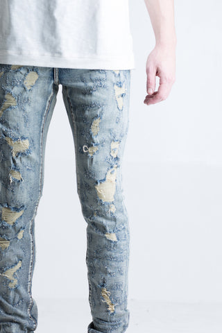Erika Shotgun Denim (Light Vintage)
