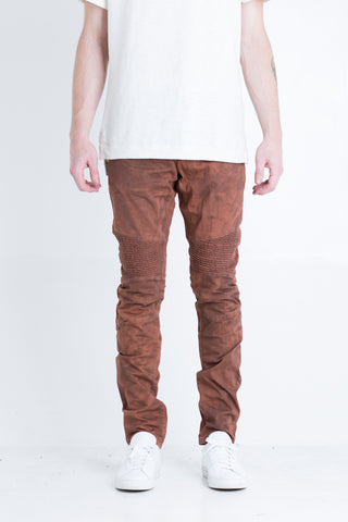 Gacy Biker Denim (Brick)