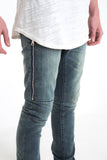 Deluxe Pocket Zip Pants (Stone Wash)