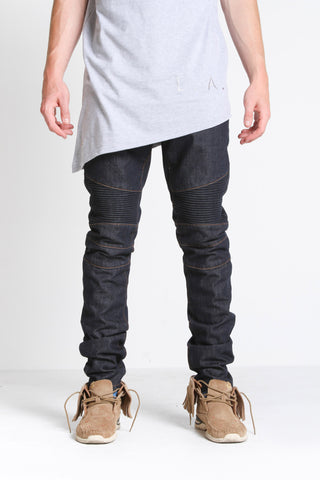 Bullet Denim (Dark Green Destroyed)