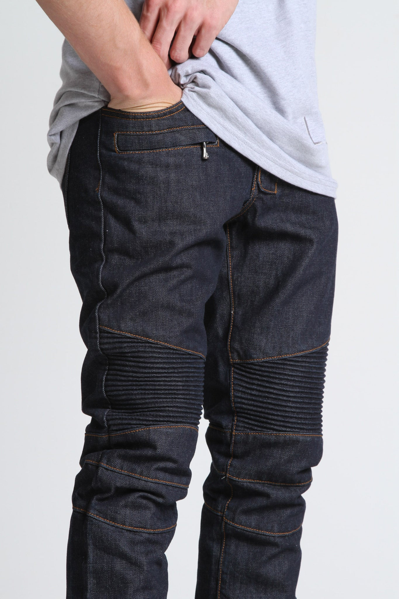 Biker Denim (Raw Blue)