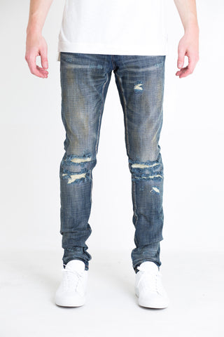 Ingrid Ripped Denim (Medium Blue)