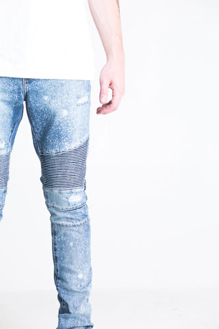 Lena Biker Denim
