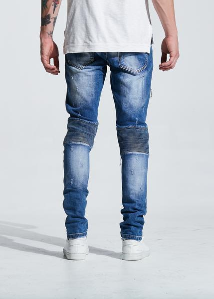 Mackenzie Ripped Denim (Washed Blue)