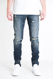 Miura Ripped Denim (Dark Blue)