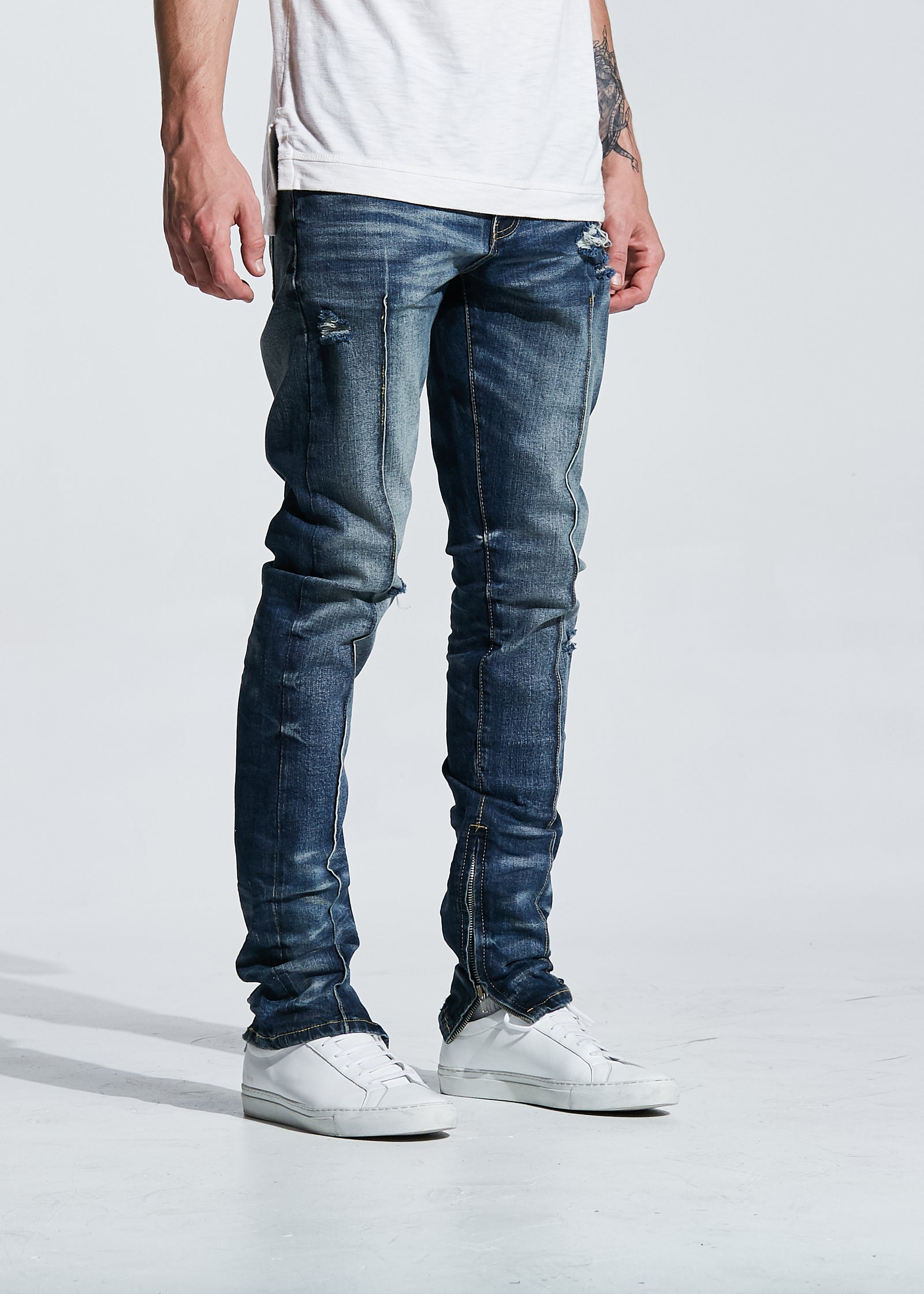 Paul Denim (Indigo Washed)