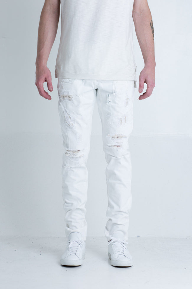 Ramirez Denim (White)