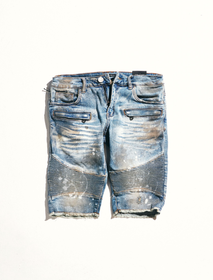 Burns Moto Shorts