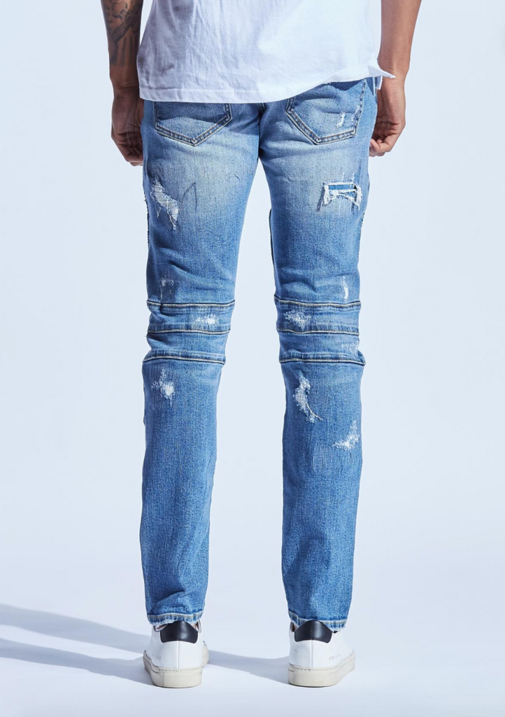 Snyder Biker Denim (Blue)