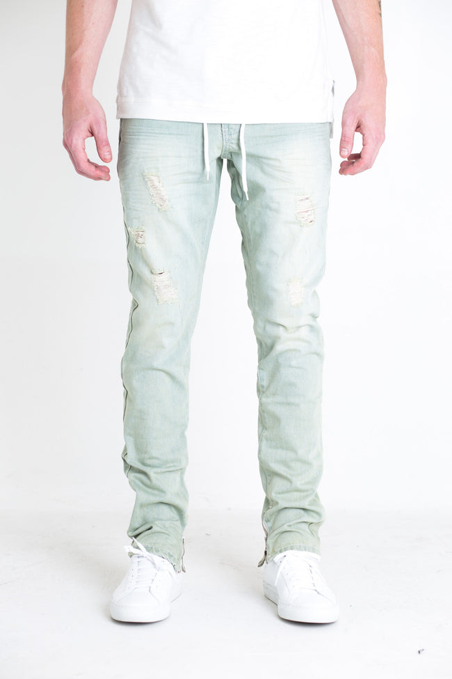 Silhouette Pants (Blue Denim)
