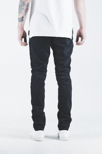 Spencer Biker Denim (Jet Black)