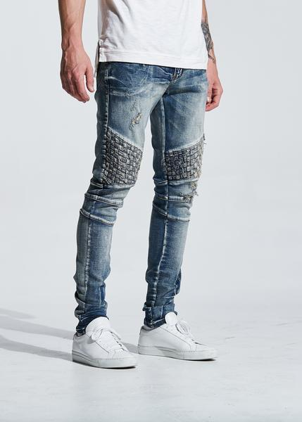 Turkish Biker Denim (Blue)