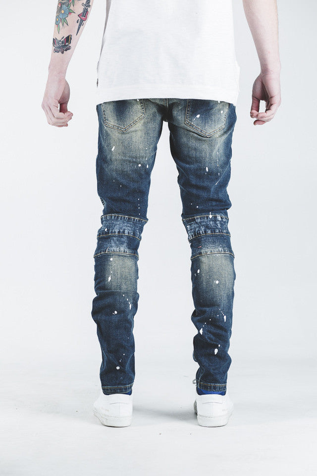 Tyrone Biker Denim