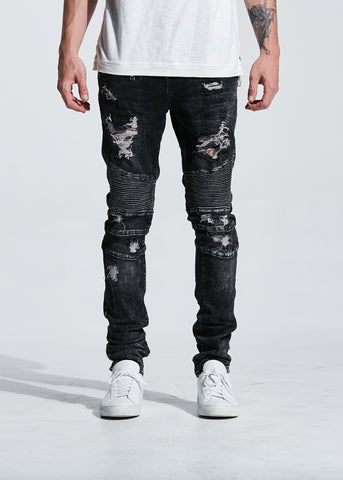 Soprano Cargo Denim (Charcoal Grey)