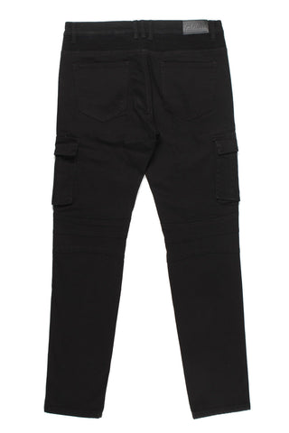 Gallardo Cargo Biker Denim (Black)
