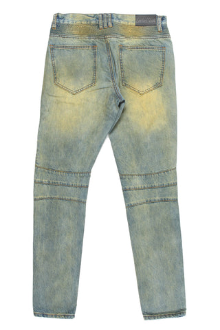 Viper Biker Denim (Sand Wash)