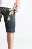 Harrah Biker Shorts (Rust)