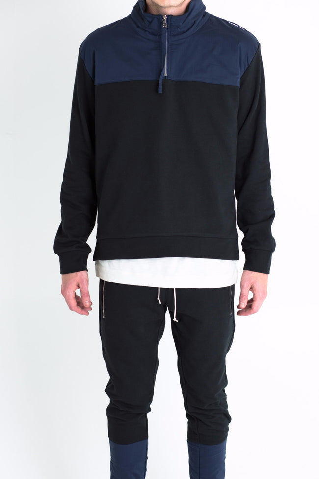 Major Sweatshirt (Black/Navy)