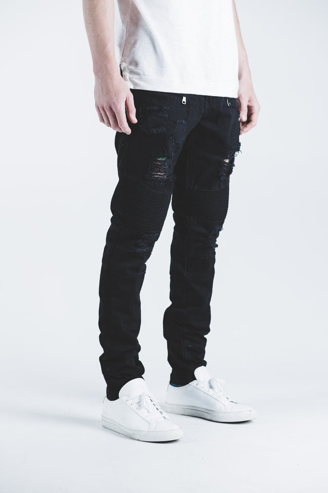 Daytona Biker Denim (Black)