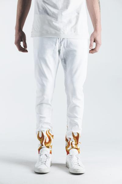 La Flame Denim (White)
