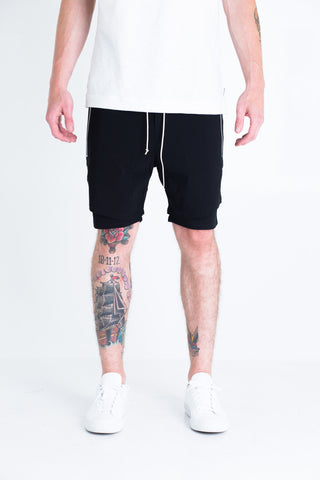 Jones Shorts (Black/Charcoal)
