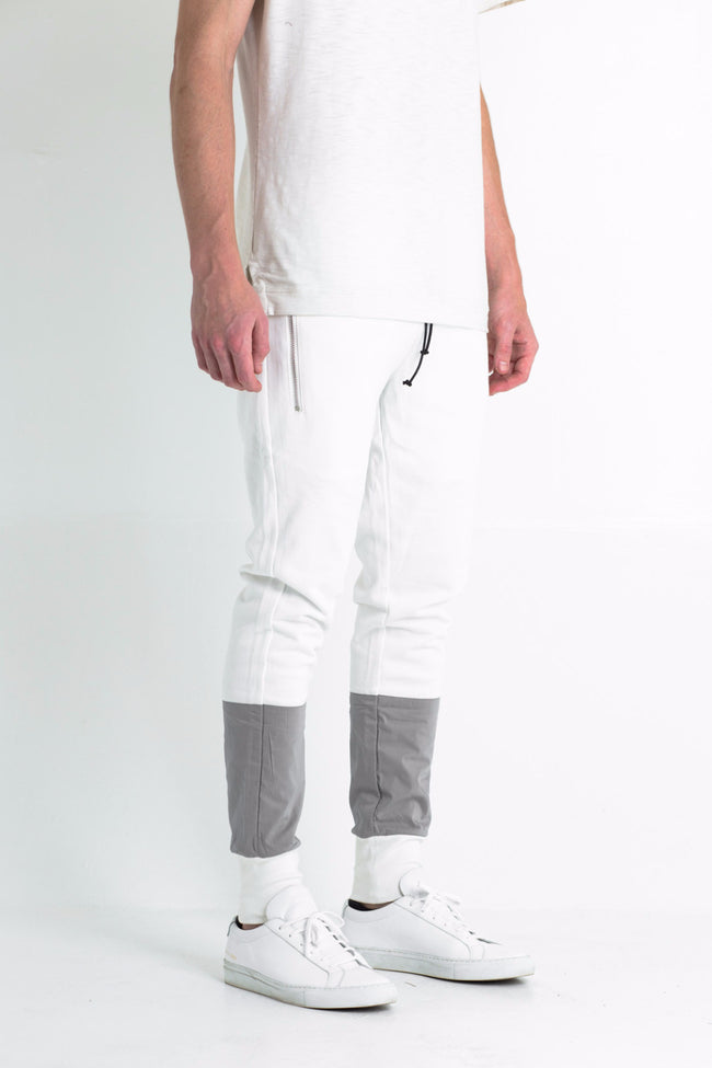 Major Pants (White/Grey)