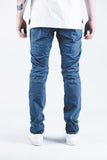 Hamptons Biker Denim (Navy)