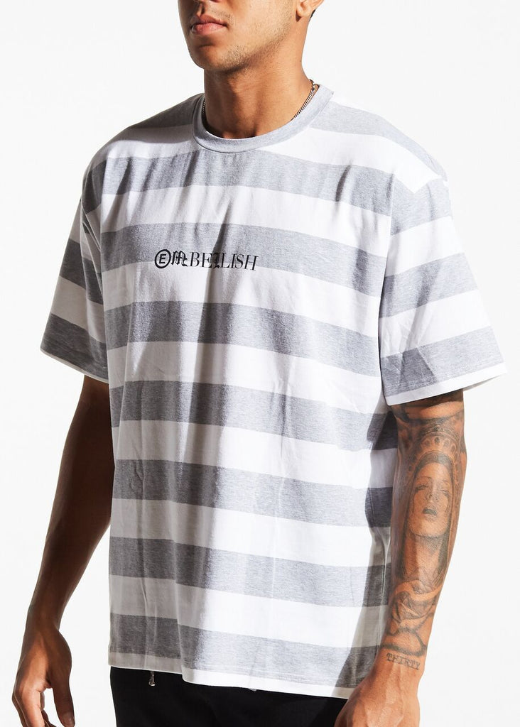 Sai Tee (White/Grey)