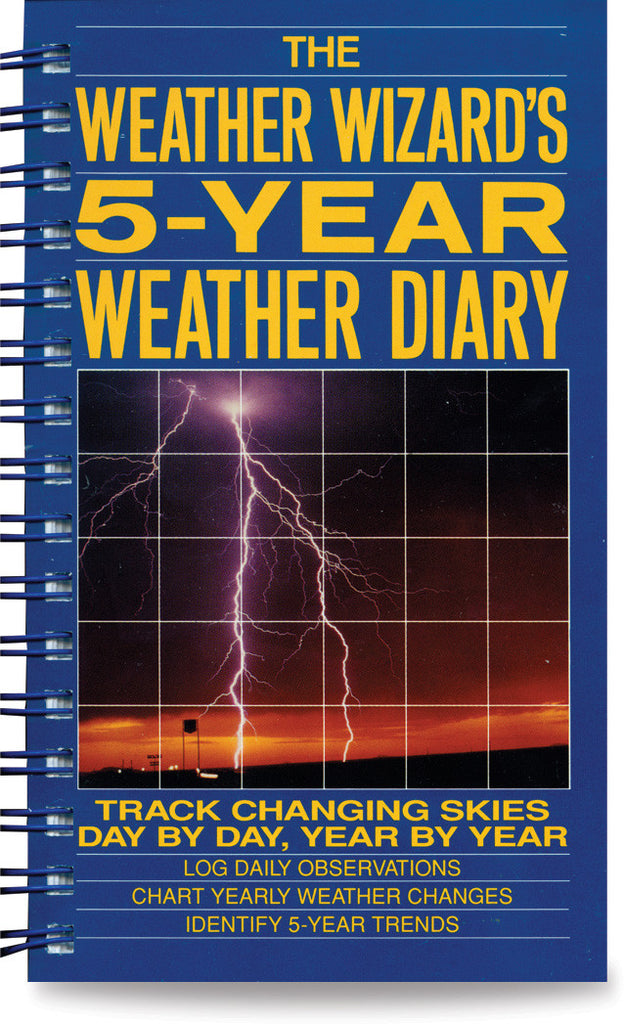 Weather Wizard 5 Year Diary