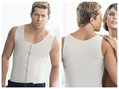 Ann Chery 2034 Latex Men Girdle Body Shaper Color Beige Plus