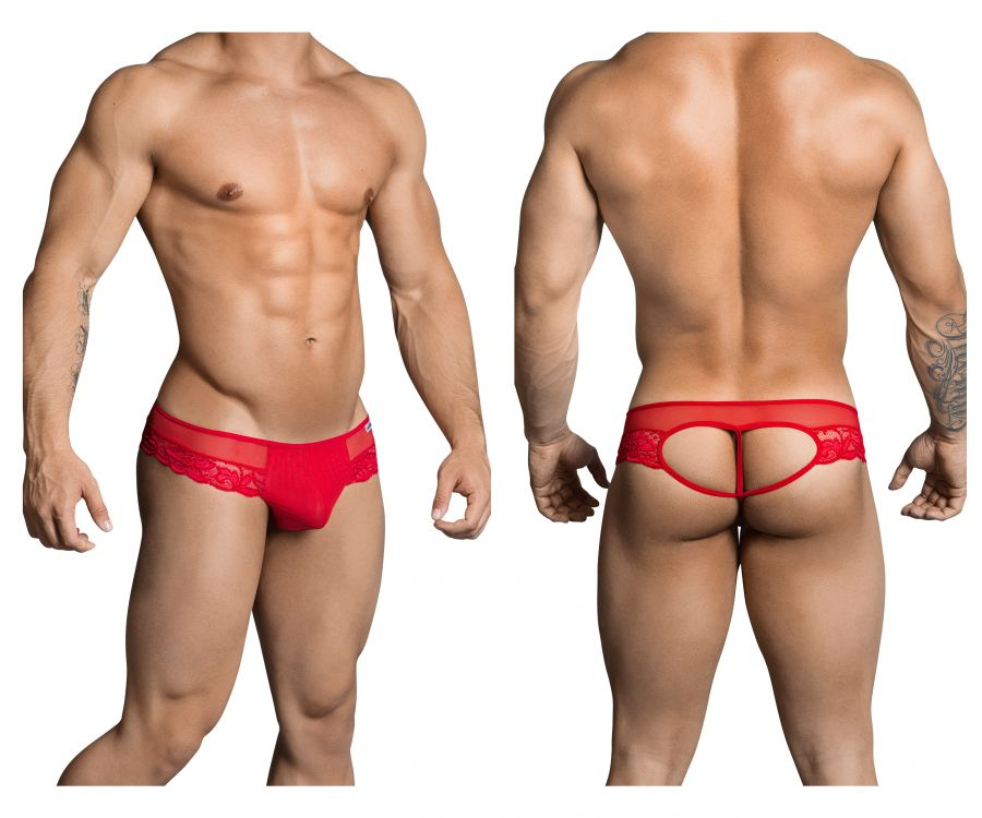 CandyMan 99299 Thongs Color Red